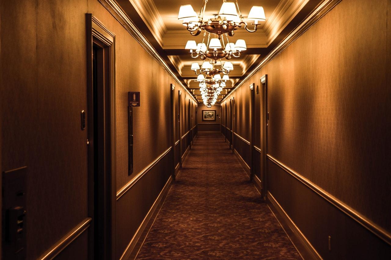 Hotelowe detale są wcenie